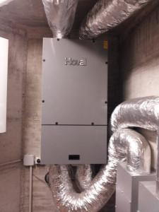 Impianto di ventilazione meccanica controllata (VMC)
