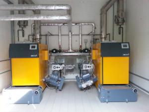 Centrale termica alimentata a biomasse (cippato)